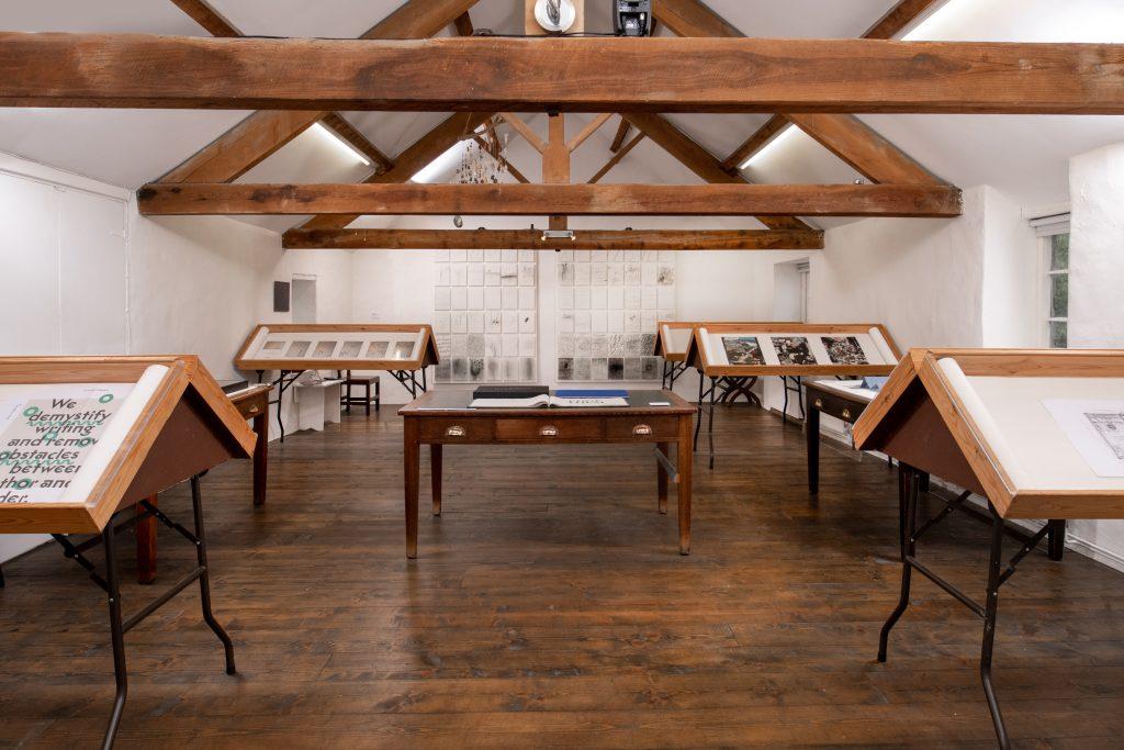 <I>Imprints: Art Editing Modernism</I> exhibition<br>28 August – 11 September 2021<br>Shandy Hall, the Laurence Sterne Trust, Coxwold, UK<br>Photography: Christopher Morrison