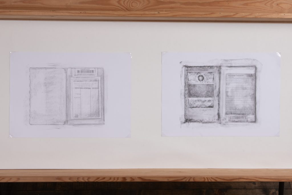 <I>A Haunted House and Other Stories</I><br>Becky Brewis<br>2021<br>Pencil on paper<br>A3 [4]